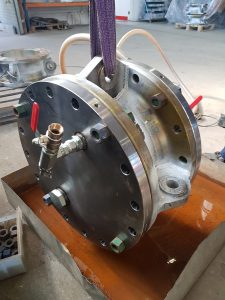 Pressure testing of Spool Pieces